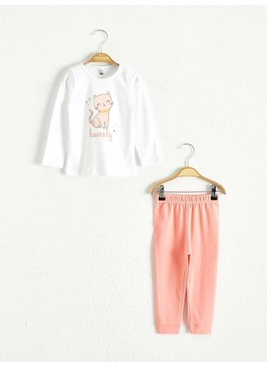 LC Waikiki Pijama Takım Beyaz